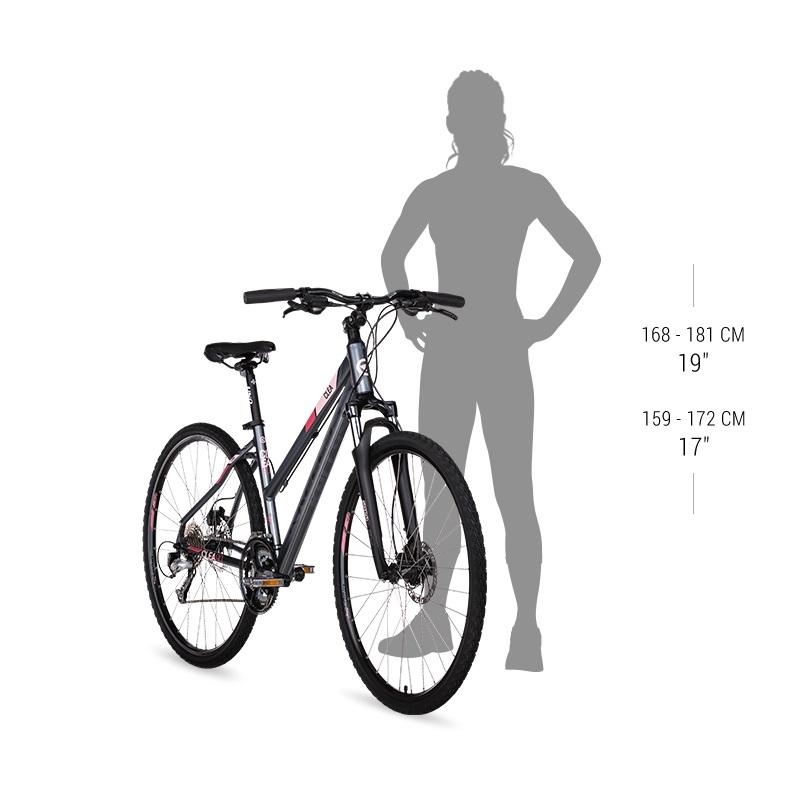kellys clea 70 28 39 39 damen cross fahrrad modell 2018. Black Bedroom Furniture Sets. Home Design Ideas