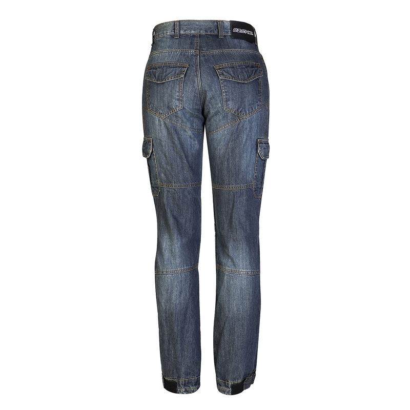 ozone shadow herren motorrad jeans blau insportline. Black Bedroom Furniture Sets. Home Design Ideas