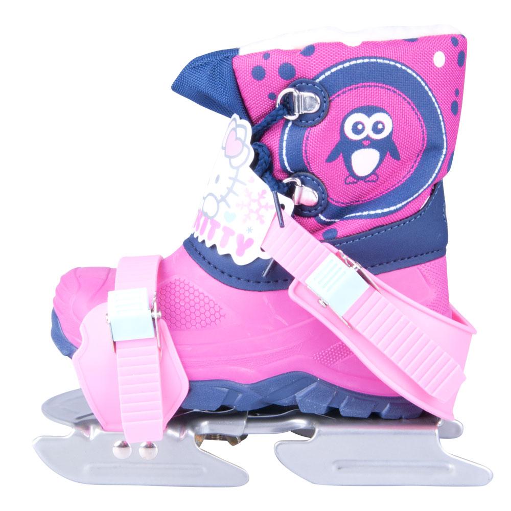 Die Kinder-Schlittschuhe Doppelkufengleiter Hello Kitty - inSPORTline