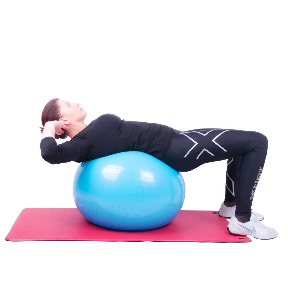 insportline top ball gymnastikball 75 cm insportline. Black Bedroom Furniture Sets. Home Design Ideas