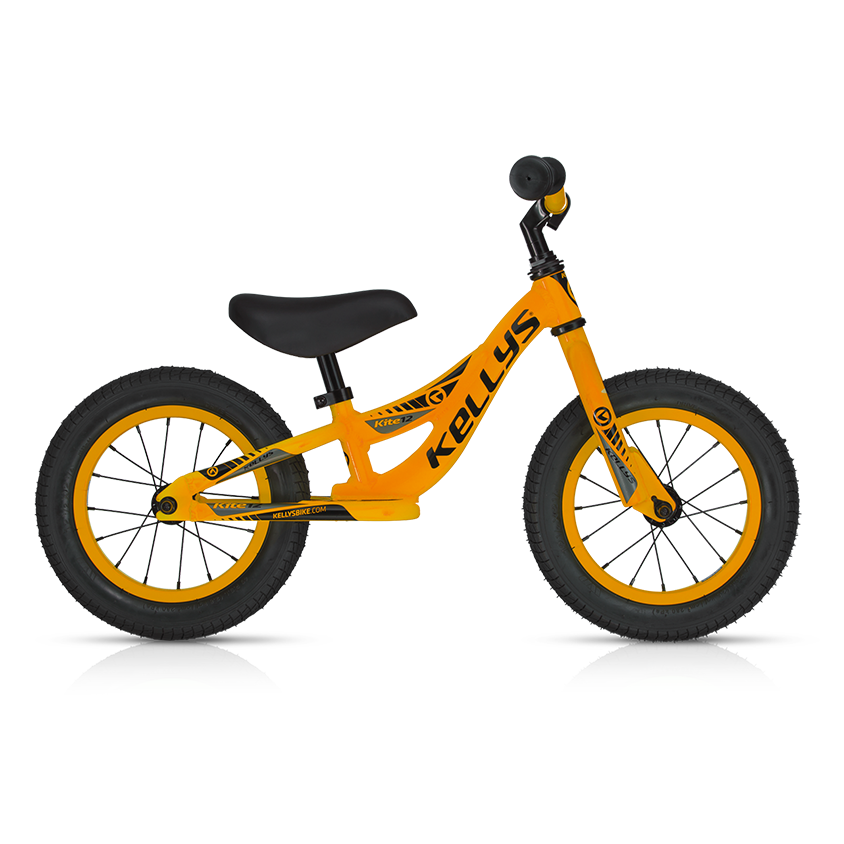 kinderlaufrad kellys kite 12 modell 2016 neon orange. Black Bedroom Furniture Sets. Home Design Ideas