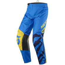 SCOTT 350 Race Kids MXVII Kinder Motocross-Hose - Blue-Yellow