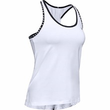 Under Armour Knockout Tank Damen Tanktop - Weiss