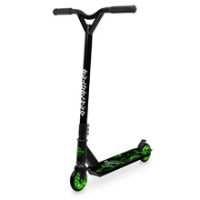Freestyle Scooter Street Surfing Destroyer Green Lightning