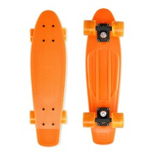 Penny Board Street Surfing Beach Board - Gnarly Sunset, Orange