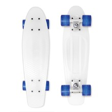 Penny Board Street Surfing Beach Board - Milky, Weiss