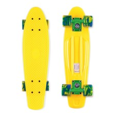Penny Board Street Surfing Beach Board - Summer Sun, Gelb