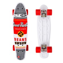 Penny Board Street Surfing POP BOARD Souper Black Dot