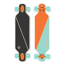 "Street Surfing Freeride - Nordic Orange 39"" Longboard"