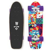 "Street Surfing Kicktail Comics 28"" Mini Longboard"