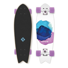 "Street Surfing Fishtail - Jelly Fish 30"" Mini Longboard"
