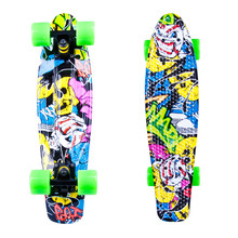 "Penny Board WORKER Colory 22"" - gelb-grün"
