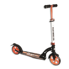 Zusammenklappbarer Tretroller Authentic NoRules 180 orange-schwarz