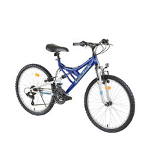 "Juniorfahrrad Reactor Freak 24"" - blau"