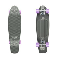 "Big Fish 27"" Penny Board - Grey-Silver-Summer Purple"