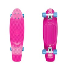 "Big Fish 27"" Penny Board - Pink-White-Blue"