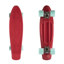 "Fish Classic 22"" Penny Board - Red-Silver-Summer Green"