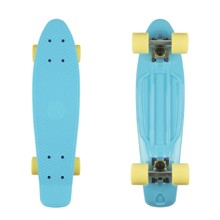 "Fish Classic 22"" Penny Board - Summer Blue-Silver-Summer Yellow"