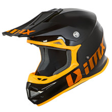 Motocross Helm iMX FMX-01 - Play Black/Orange