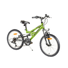 "Reactor Flash 20"" vollgefedertes Kinderbike - Modell 2017 - Green"