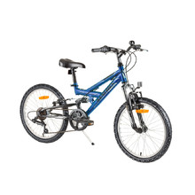 "Reactor Flash 20"" vollgefedertes Kinderbike - Modell 2017 - Blue"