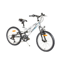 "Reactor Flash 20"" vollgefedertes Kinderbike - Modell 2017 - White"