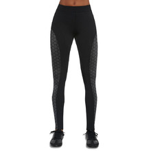 BAS BLACK Escape Damen Leggings - schwarz-grau