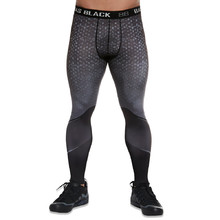BAS BLACK Hardmen Herren Leggings - grau