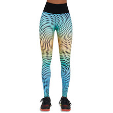 BAS BLACK Wave 90 Damen Leggings - bunt