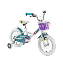 "Kinderfahrrad DHS Countess 1402 14"" - Modell 2016 - Weiss"