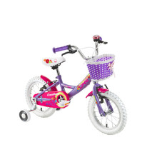 "Kinderfahrrad DHS Countess 1404 14"" - Modell 2016 - Violett"