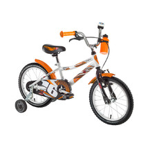 "Kinderfahrrad DHS Speed 1601 16"" - Modell 2016 - Weiss"