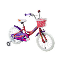 "Kinderfahrrad DHS Countess 1402 14"" - Modell 2016 - Rot"