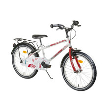 "Kinderfahrrad DHS Travel 2003 20"" - Modell 2016 - Weiss"