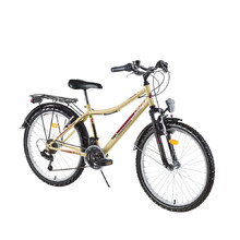 "Juniorfahrrad DHS Travel 2431 24"" - Modell 2016 - Ivory"