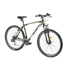 "Mountainbike DHS Terrana 2623 26"" - Modell 2016 - Black-White-Green"
