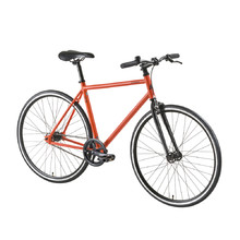 "Stadtfahrrad DHS Fixie 2896 28"" - Modell 2016 - Orange"