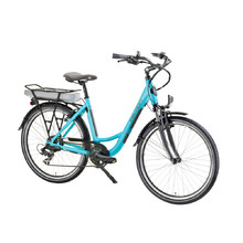 Devron 26122 City E-Bike - Modell 2016 - Baby Blau