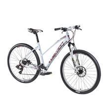 "Damen-Mountainbike Devron Riddle LH0.7 27,5"" - Modell 2016 - Crimson weiß"