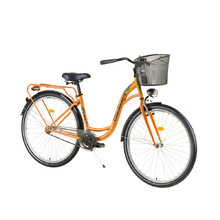 DHS Citadinne 2632 26'' City Bike - Modell 2017 - Orange
