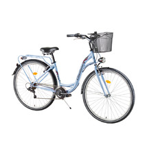"DHS Citadinne 2834 28"" City Bike - Modell 2017 - Blau"