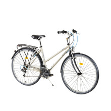 DHS Travel Travel 2852 28'' - Damen-Trekking-Fahrrad - Modell 2017 - Hell Brown