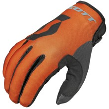Motocross Handschuhe Scott 350 Track MXVI - blau-orange