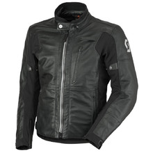 Leder Motorradjacke Scott Tourance Leather DP - schwarz