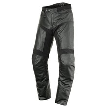 Leder Motorradhose Scott Tourance Leather DP - schwarz