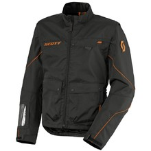Motorradjacke Scott Adventure 2 - schwarz-orange