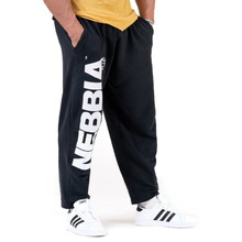 Retro-Jogginghose Nebbia Beast Mode On 186 - schwarz