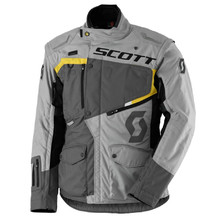SCOTT Dualraid DP MXVII Motorradjacke - Grey-Yellow