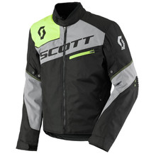 SCOTT Sport Pro DP MXVII Motorradjacke - Black-Light Grey