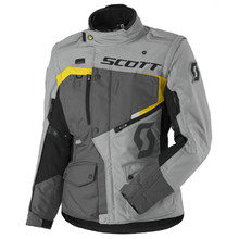SCOTT W's Dualraid DP MXVII Damen-Motorradjacke - Grey-Yellow